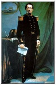 Uriah Phillips Levy Portrait